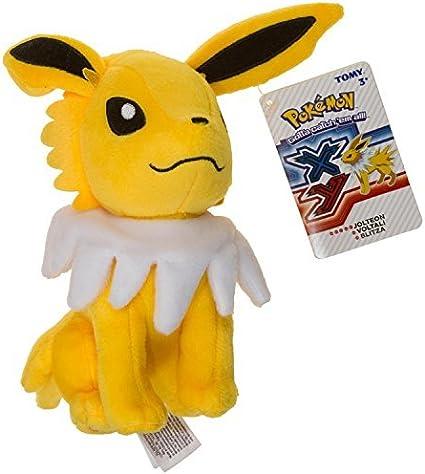 Tomy Licensed Pokemon XY Anime Eevee Evolution Leafeon Ultra-Soft Plushie