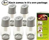 Ideal Kitchen Bundle Olive Oil Sprayer Mister - 5-Pack - Grey