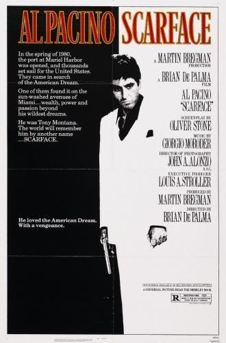 Scarface Movie Poster #01 24