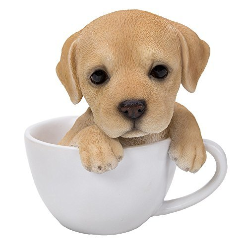 Pacific Giftware Adorable Teacup Pet Pals Puppy Collectible, used for sale  Delivered anywhere in USA