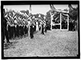 Vintography Reproduced 16 x 20 Photo Military Field Mass Holy Name SOC Roman Catholic Church. Corcoran Cadets 1910 Harris & Ewing a37