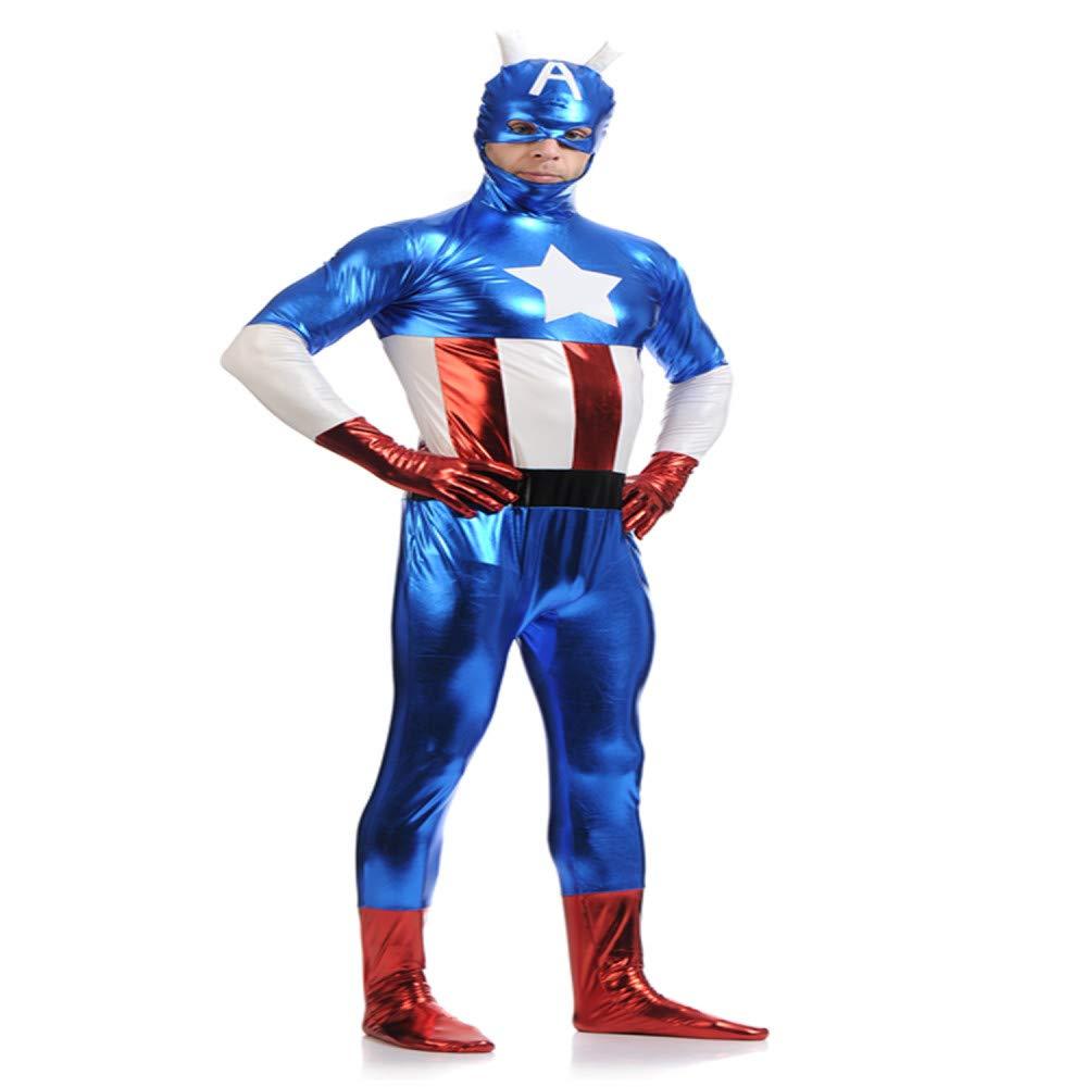 YXIAOL Avengers Captain America Captain,Disfraz De Superhéroe ...