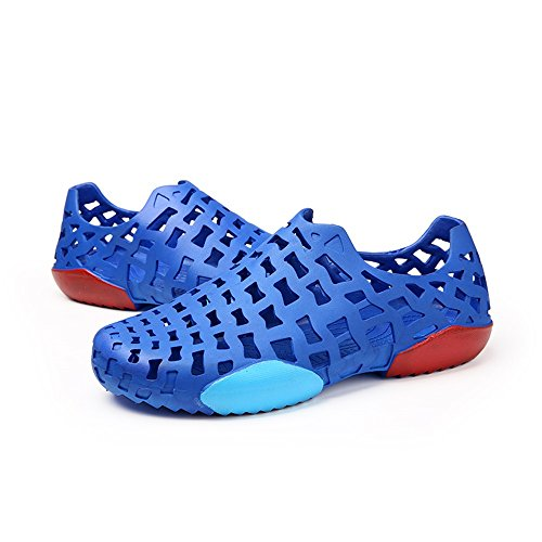 uomo Blu Sandali con all'aperto 2018 zoccoli Mens shoes da wFn7qR6I