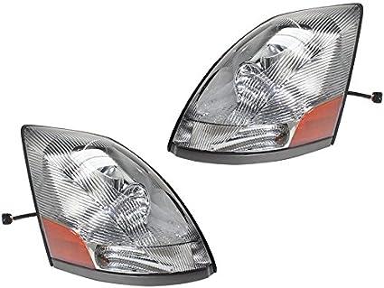 Amazon Com Volvo 04 15 Vt Vnl Vnm Vn Series Truck Chrome Head Light