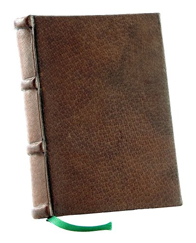 Handmade Italian Leather Journal with creamy hand-cut pages 6x8in | Epica