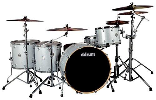 ddrum-reflex-bmdr-26-5pc-silver-spk-bombardier-drum-kit-silver-sparkle