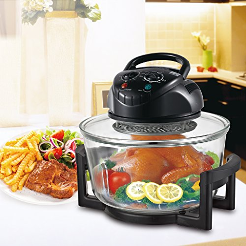 1200w halogen convection oven - 6
