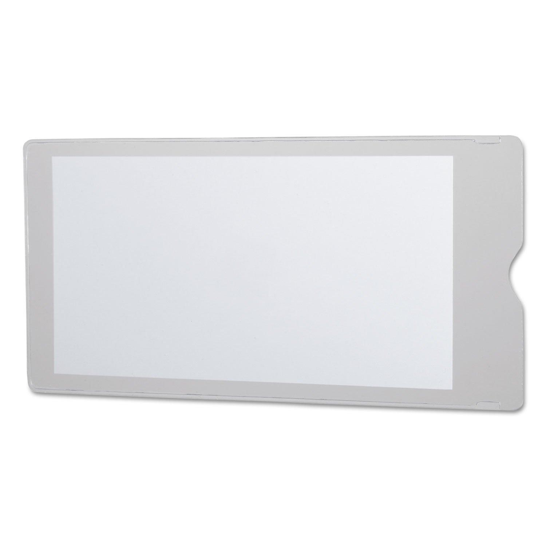 Oxford 65049 Utili-Jac Heavy-Duty Clear Plastic Envelopes, 4 x 9, 50/Box