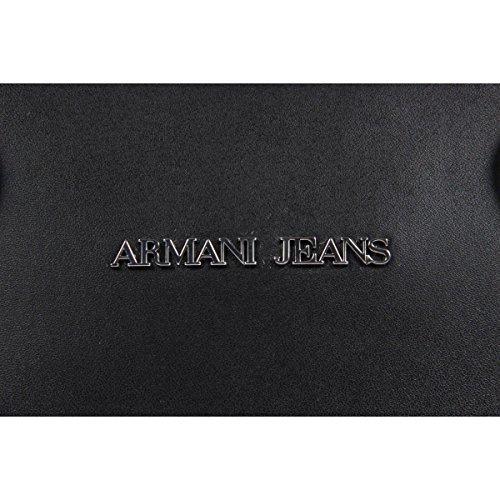 ARMANI JEANS BOLTS TOP HANDLE BAG C521VS4 Nero