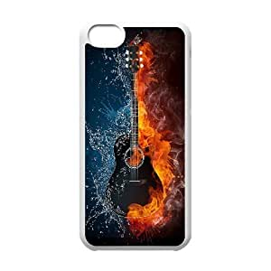 High Quality {YUXUAN-LARA CASE}Guitar Pattern For Iphone 5c STYLE-18