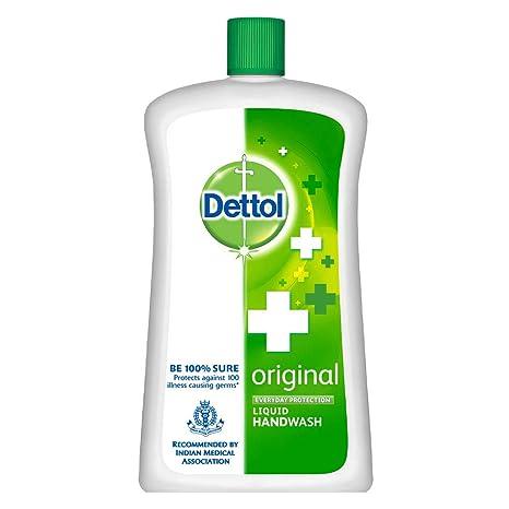 Dettol Liquid Soap Jar Original, 900 ml: Amazon.in: Health
