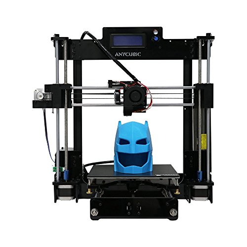 """Anycubic Upgraded DIY Prusa i3 3D Printer Kits with UltraBase Heatbed High Accuracy and Larger Print Size 8.27""""X8.27""""X9.84"""""""
