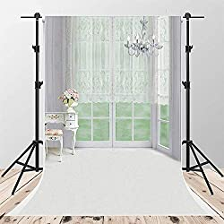 Kate6.5x10ft Modern Living Room Photography Backdrop Indoor Backdrop with Floor Chandelier Background for Wedding