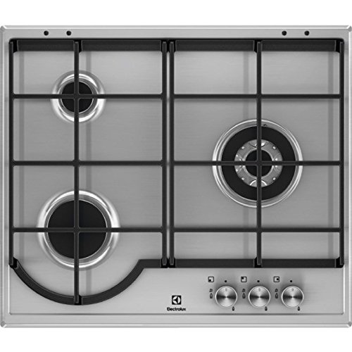 Electrolux EGHBOX Integrado Encimera de gas Acero inoxidable hobs Placa Integrado Encimera