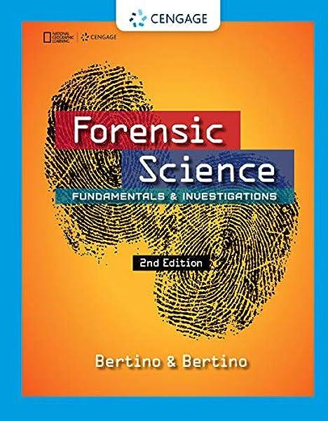 Forensic Science Fundamentals Investigations 9781305077119 Medicine Health Science Books Amazon Com