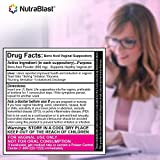 NutraBlast Boric Acid Suppositories 600mg w/Vaginal Applicator, 30 Suppositories & 15 Applicators - pH Balance for Women, Feminine Care - Made in USA