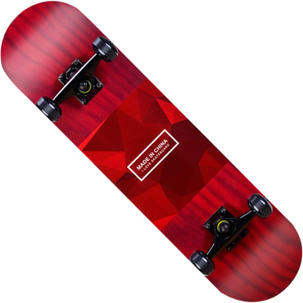 最安値挑戦! スケートボードファッションパターン7層メイプルエメリー四輪旅行初心者スクーター31インチ B07H944YHQ B07H944YHQ B B B B, ダテグン:aa2d1a5b --- a0267596.xsph.ru