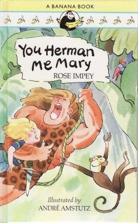 book cover of You Herman, Me Mary