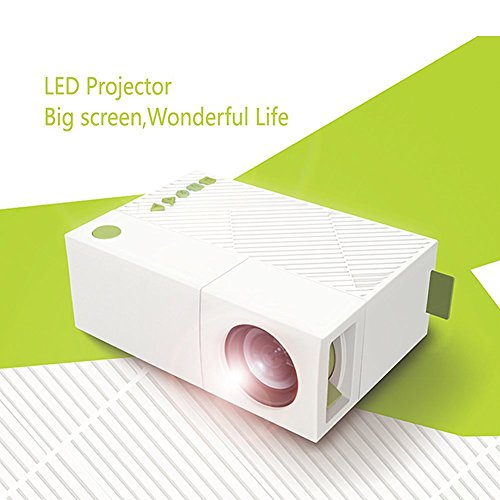 WEILIANTE Mini LED HD Projector Home Theatre Cinema Video Pr