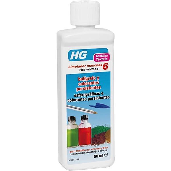 HG Limpiador manchas de nr. 6 50 ml - Eficaz limpiador de ...