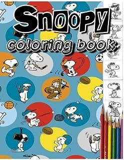 Amazon.com: snoopy coloring book vol.1-2 : coloring book: stress ...