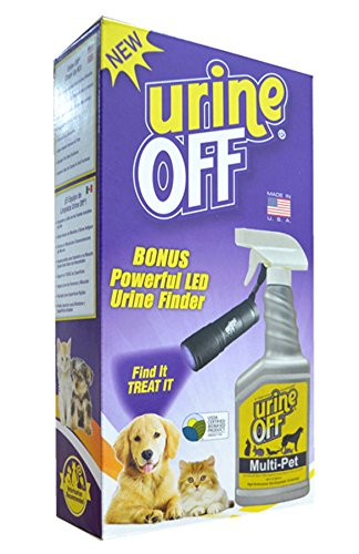 Urine Off Multi-Pet Formula with LED Urine Finder, 500ml by urineOFF