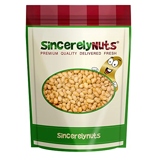 Sincerely Nuts Soybeans (Soy Nuts) Roasted & Unsalted - One Lb. Bag – Insanely Healthy Snack - Exquisite Crunchy Taste - Kosher Certified