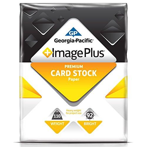 - Georgia-Pacific Premium Card Stock, 250 Sheets