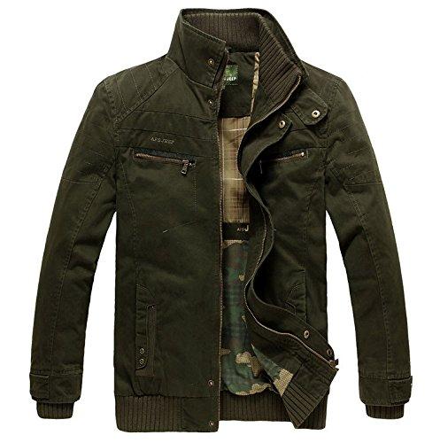 AFS JEEP Chaqueta Estilo Militar Moda: Amazon.es: Ropa y ...