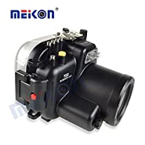 DSLR Diving 40M/130ft Waterproof Underwater Housing Case For The Canon 70D Camera with a 18-55mm Lens