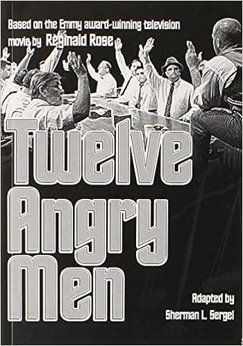 Read Twelve Angry Men By Reginald Rose