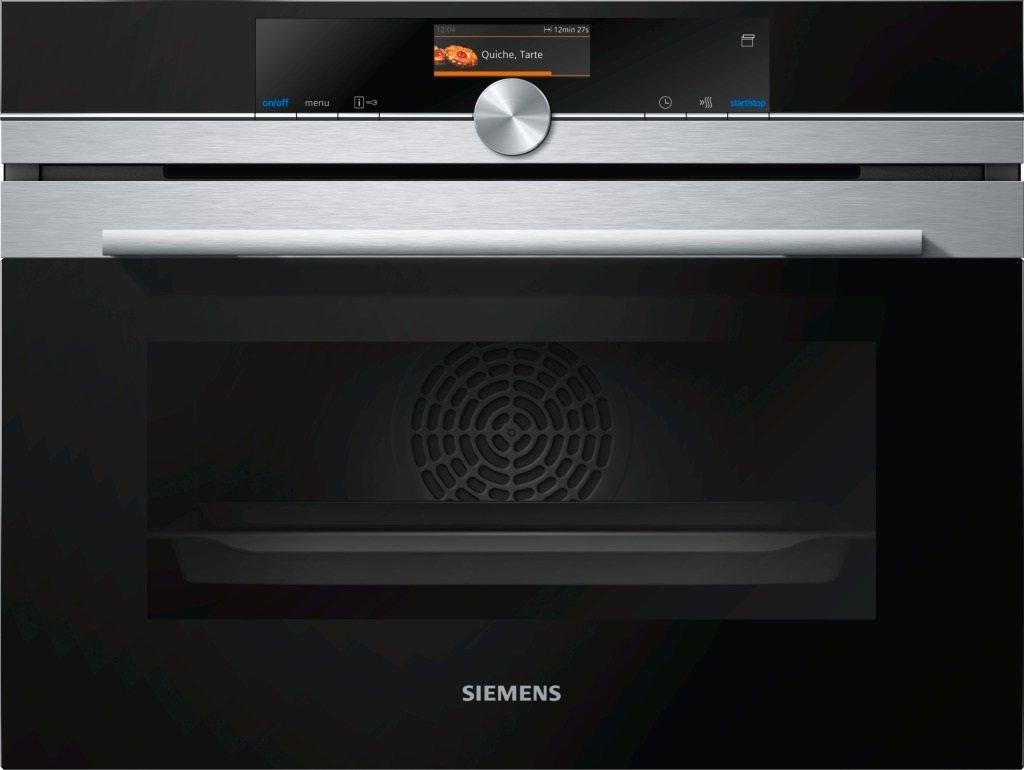 Siemens CS636GBS1 iQ700 Backofen Elektro / 47 L /Dampfgarfunktion / Edelstahl [Energieklasse A]