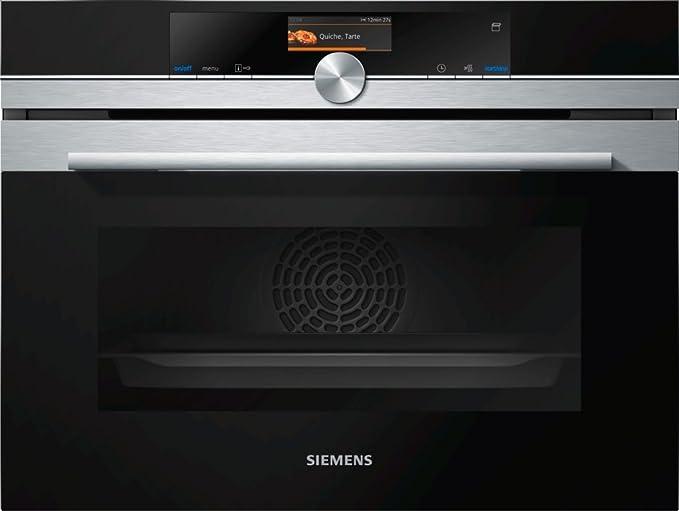 Siemens-lb iq700 - Horno compacto multifunción vapor cs636gbs1 ...