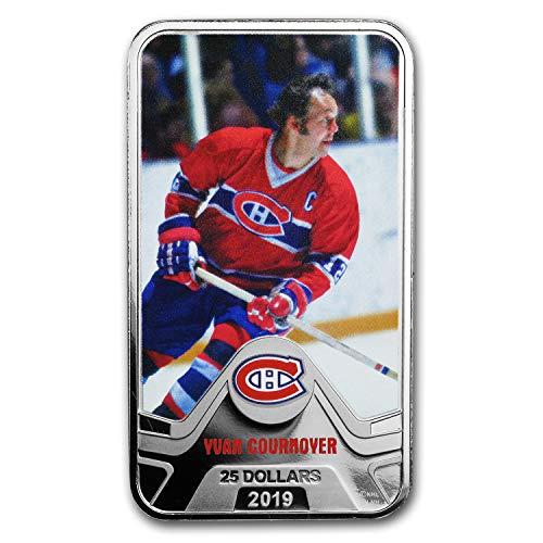 2019 CA Canada 1.5 oz Silver $25 Montreal Canadiens: Yvan Cournoyer Silver Brilliant Uncirculated