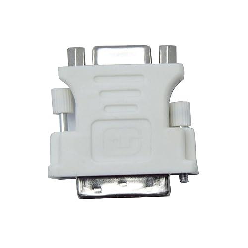 niceeshop(TM) DVI-I Mâle (24 +5) Vers VGA Femelle Adaptateur Convertisseur
