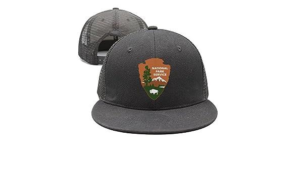 aa4ac7a9 bbabylike National Park Service 100th Anniversary Style Flat Bill Snapback  Caps Trucker Hats at Amazon Women's Clothing store: