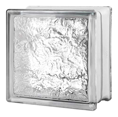 Seves 5002873 8 x 8 x 4 in. Cortina Glass Block - Pack of 8 by SEVES