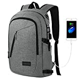 Best School Backpacks For Colleges - Business Laptop Backpack, Mancro Travel Bag with Headphone Review