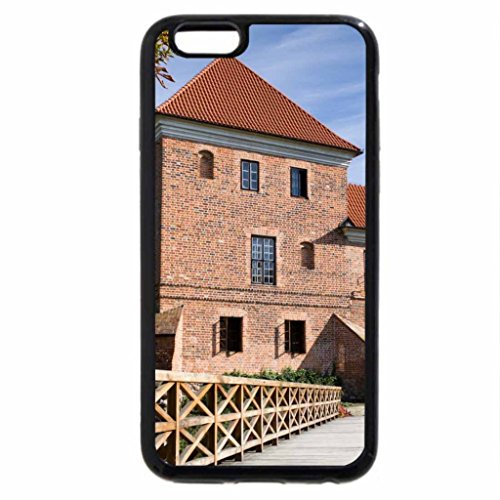 iPhone 6S / iPhone 6 Case (Black) lovely red bricks on kutno castle in poland