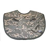 Trooper Clothing Infant Boy's ABU Air Force Bib (Camo)
