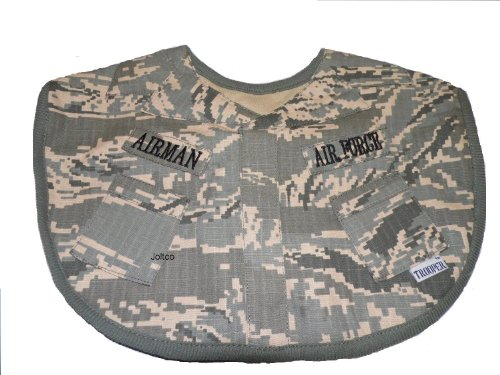 Trooper Clothing Infant Boy's ABU Air Force Bib (Camo) (Air Force Bib)