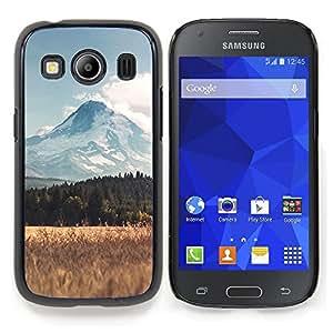 TikTakTok Funda Carcasa protectora para Samsung Galaxy Ace Style LTE/ G357 - Paisaje Montaña Campo