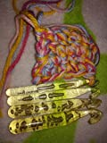 Huge Crochet Hook Set and 9 Pieces Large-Eye Blunt