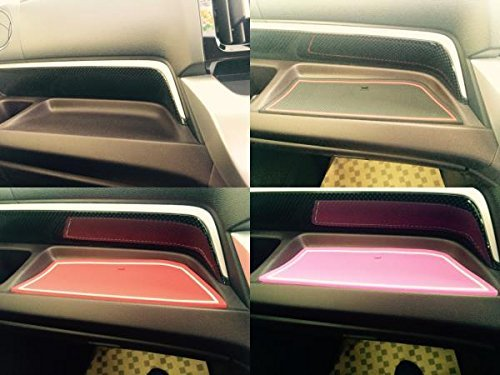 KINMEI Honda N-WGN pink specially designed interior door pocket mat drink holder slip non-slip storage space protection rubber mats HONDA N wagon gna