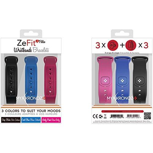 MyKronoz 813761020923 Smartwatch Reemplazo Banda, Negro ...