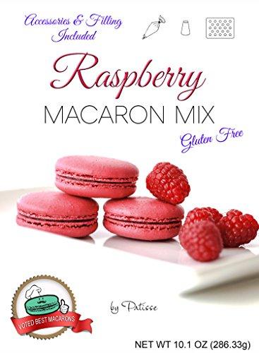 Raspberry Macaron Mix Kit (Mix Baking Macaron)