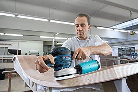 400 Watt, Schleifteller-/Ø: 125//150 mm, in L-BOXX Bosch Professional Exzenterschleifer GEX 125-150 AVE