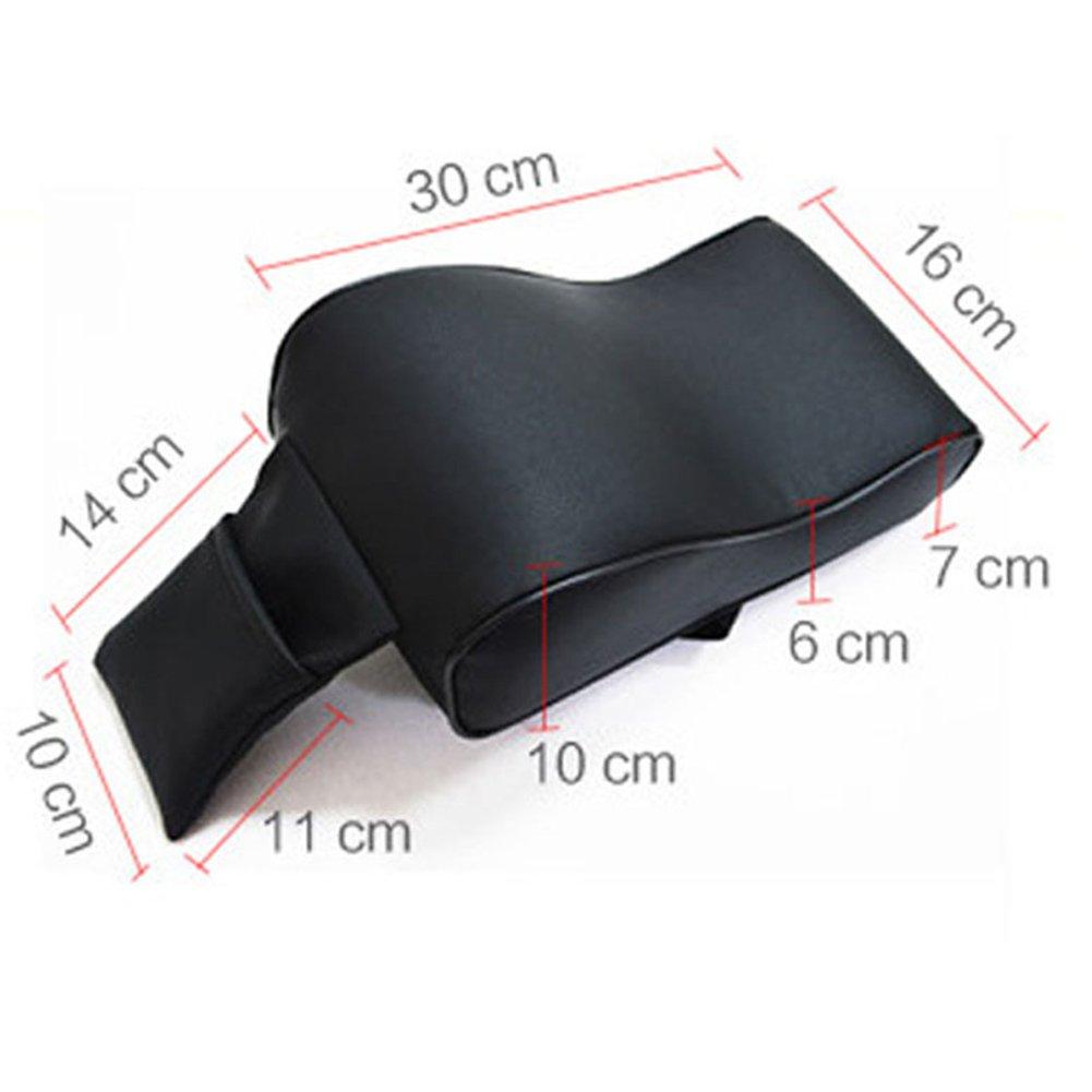 cuscino per bracciolo da auto in memory foam e pelle ecologica di poliuretano UxradG atossico copertura