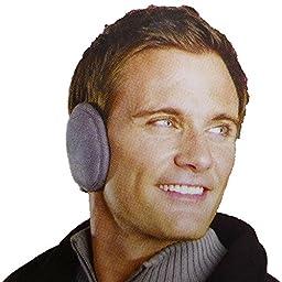 180s Men\'s Urban Ear Warmer,Black,One Size