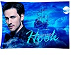 Hot Once Upon a Time Captain Hook Zippered Rectangle Pillow Cases 20